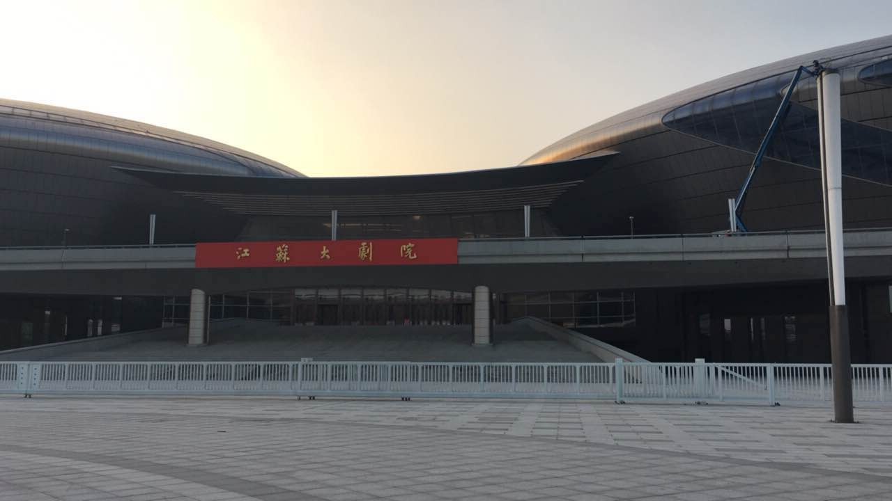 Jiangsu Theatre decoration design mesh