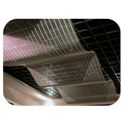 Metal Woven Mesh For Ceiling