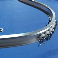 The track and accessories of Masewa Metal coil drapery